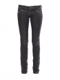 Dark grey low waist slim fit jeans Retail price €180 Size 36