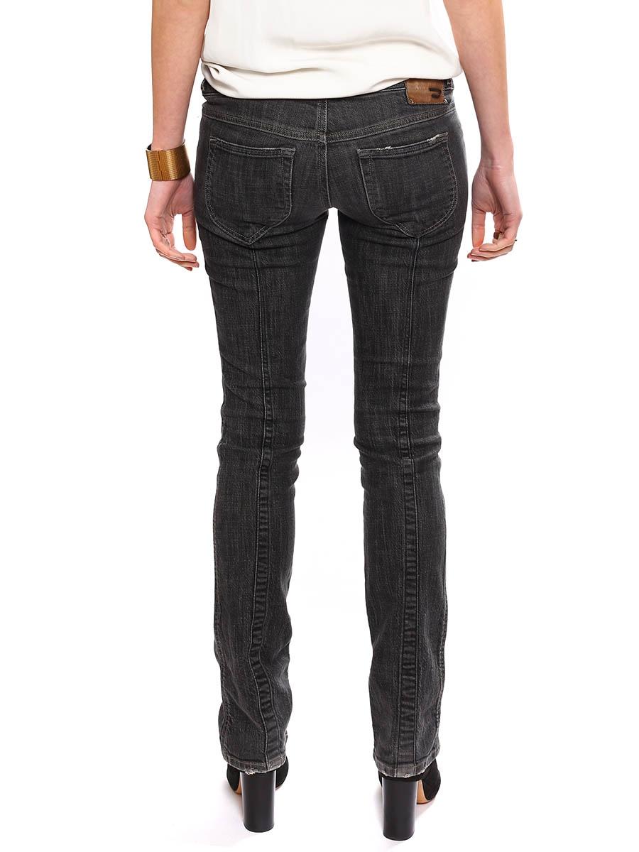 louise paris diesel jean slim fit taille basse gris fonc prix boutique 180 taille 36. Black Bedroom Furniture Sets. Home Design Ideas