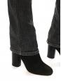 Jean ROKKET slim fit taille basse gris foncé Prix boutique 180€ Taille 36