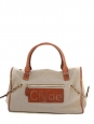 "Canvas and leather travel bag ""Haley""  Retail price 995€"