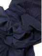 Jupe longue en coton bleu marine Taille 36