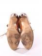 Bottines lace up KATHLEEN en suède marron camel Prix boutique 595€ Taille 36