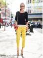 JOSEPH Finley yellow gabardine cotton tailored pants Retail price €300 Size 36/38