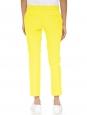 Pantalon tailleur Finley en gabardine de coton jaune vif Px boutique 300€ Taille 36-38