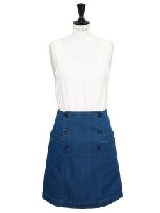 Jupe en jean à pont bleu moyen Prix boutique 130€ Taille 36