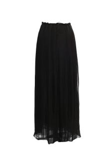 Jupe longue en mousseline plissée noire Prix boutique 1500€ Taille 38