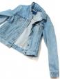 Veste courte en jean bleu clair Taille 36