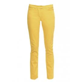 Honey yellow stretch cotton slim fit low waist denim jeans Retail price €280 Size 38