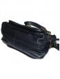 PARATY midnight blue leather medium shoulder bag Retail price 1450€ NEW