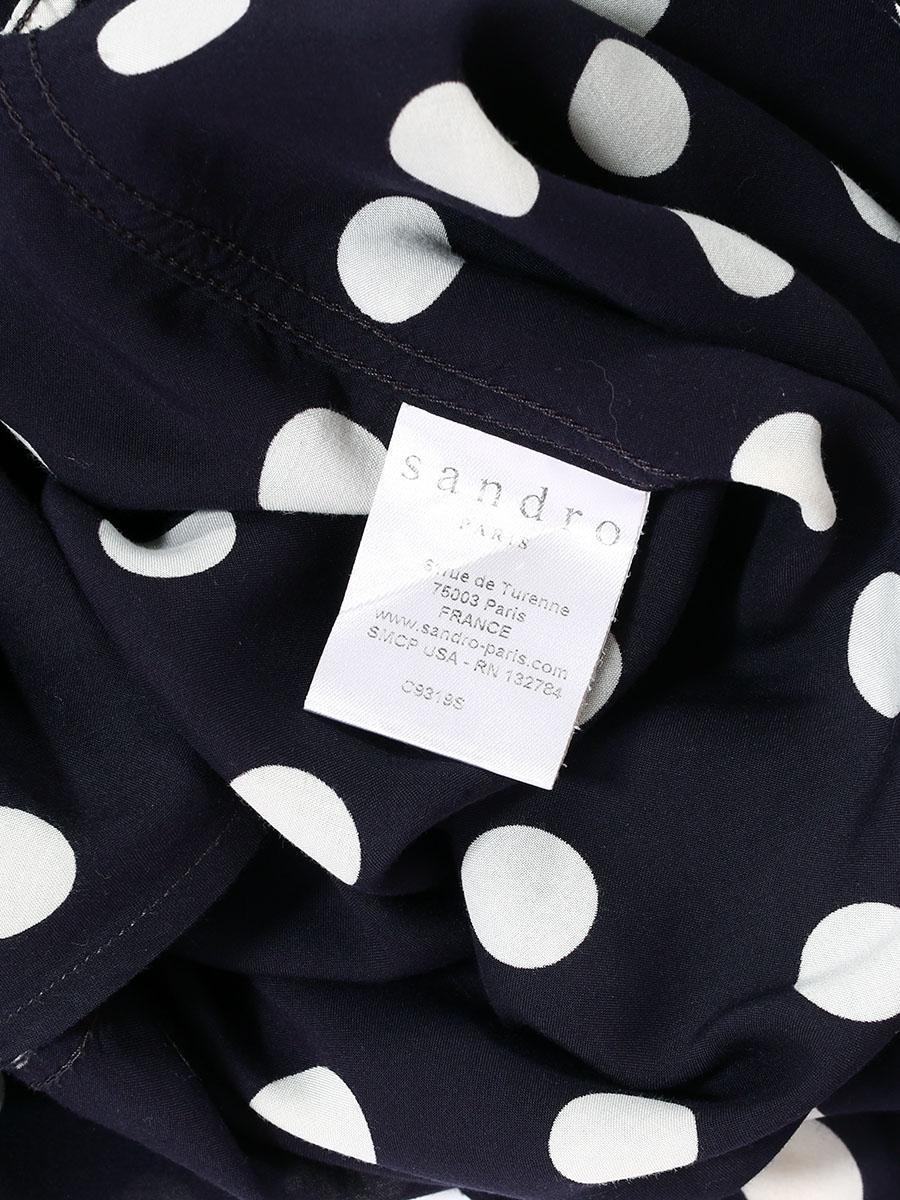 Jctflk1 Noire Blancs Chemise Pois Femme Souleiado 435LcqARj