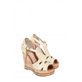SHIRLEY Cork wedge sandals Retail price €625 Size 37