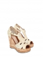 SHIRLEY Cork wedge sandals Retail price €625 Size 37