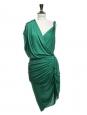Robe de cocktail drapée orange style grec Prix boutique 2050€ Taille 38/40