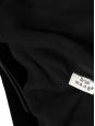 Robe de soirée dos nu en velours noir et chaîne Px boutique 3000€ Taille 36