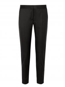 Pantalon slim fit en crêpe de laine noir Px boutique 560€ Taille 36