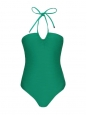 HONOLULU Emerald green one piece open back swimsuit Retail price €211 Size 34 / XS