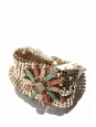 Gold-plated cuff bracelet NEW Retail price about 350€