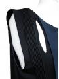 Top en crêpe de soie bleu pétrole Px boutique 950€ Taille 36/36
