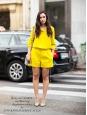 Chemise manches longues en soie jaune soleil Px boutique 220€ Taille 38