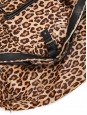 Wild leopard printed pony calfskin leather BILLY bag Retail price €1295 Size L