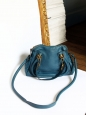 Sac à bandoulière PARATY Small en cuir grainé fauve camel Px boutique 1150€