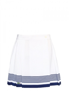 White and navy blue pleated tennis skirt Size 36