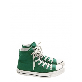 Baskets montantes Chuck Taylor Classic All Star en toile vert gazon Taille 37