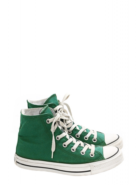 Chuck Taylor Classic All Star grass green high sneakers Size 37