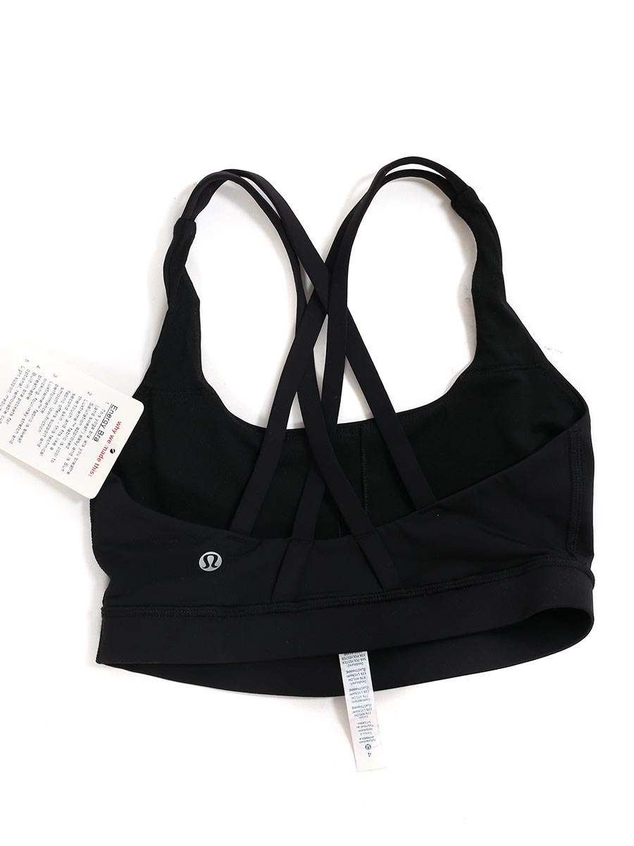 d485c7a0ba ... Black luxtreme ENERGY BRA for yoga and running Retail price €55 Size XS  ...