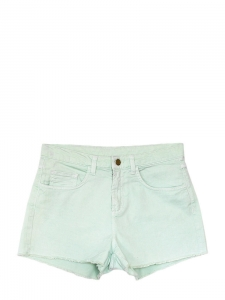 Water green denim shorts Size 38