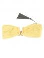 Yellow waffle PUERTO VIEJO and FORMENTERA bikini swimsuit NEW Retail price €215 Size S