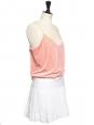 Mini jupe en lin blanc Px boutique 200€ Taille 36