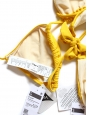 Maillot de bain bikini triangle jaune bouton d'or Taille 36