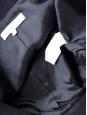 Blazer court type boléro en laine Bleu marine Taille 40