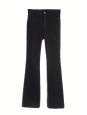 Dark blue The '70s high-rise flared jeans Retail price €325 Size 27