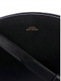 Half-Moon black vegetable leather cross-body bag NEW Retail price €320
