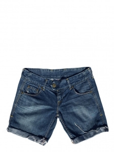 Blue denim mini shorts Size XS