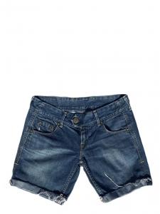 Mini short en jean bleu brut Taille 34
