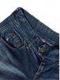 Blue denim mini shorts Size XS