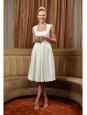 Robe REGAN en crêpe stretch blanc NEUVE Prix boutique 1130€ Taille 34