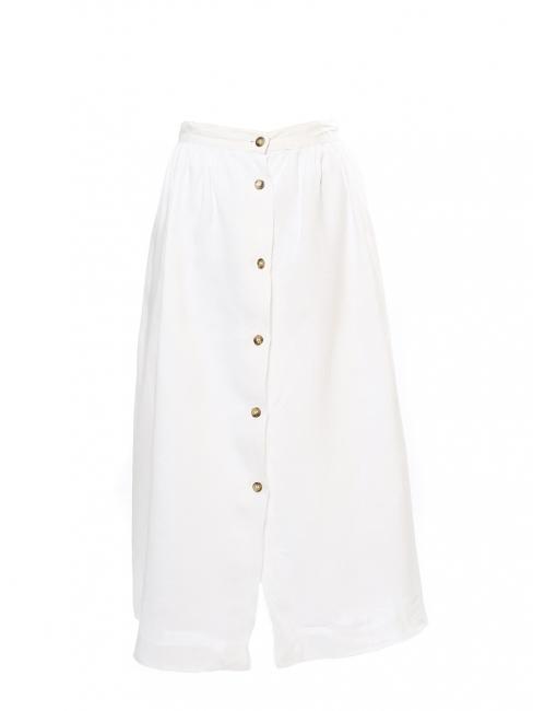 c55b5b5bc51c4 Louise Paris - SCAPA of scotland White linen high waist maxi skirt ...