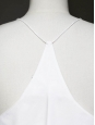White cotton string dress Retail price $425 Size 36