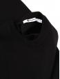 Robe en maille noire dos nu près du corps sans manche Prix boutique 350€ Taille S