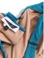 Maillot de bain une pièce bustier FORTE DEI MARMI bleu vert NEUF Px boutique 200€ Taille 34
