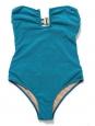 Blue green one piece open back FORTE DEI MARMI swimsuit Retail price $218 Size XS