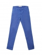 Royal blue cotton chino pants Retail price €120 Size S