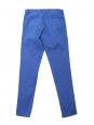 Royal blue cotton chino pants Retail price €120 Size S