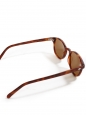 LA 711 camel tortoiseshell frame luxury sunglasses with brown lenses Retail price €260 NEW