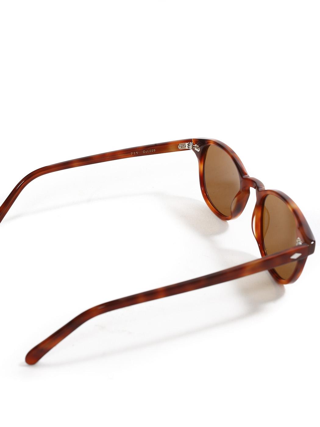8d0f39cb5f ... Lunettes de soleil La 711 monture écaille camel verres marron clair  Prix boutique 260€ NEUVES