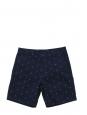 Short Homme en coton bleu marine imprimé ancres Taille 29 (small)